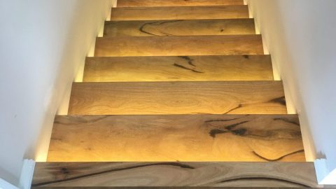 Marri timber stairs Perth