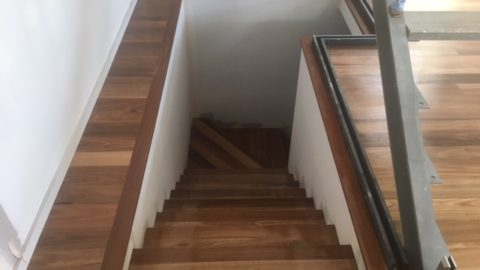 Timber Floorboard staircase